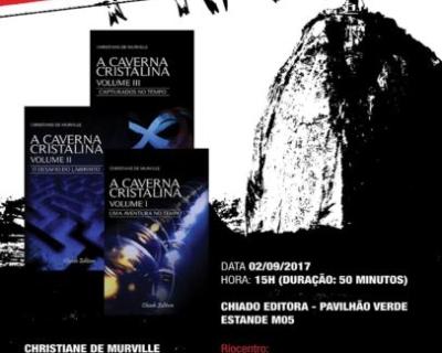 """""""A Caverna Cristalina"""" na Bienal do Rio de Janeiro!"""
