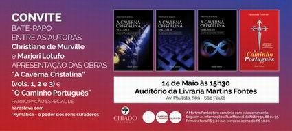Um bate-papo na Livraria Martins Fontes Paulista…