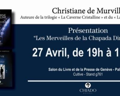 Chez Cultive, stand g761, Salon du livre, Palexpo!