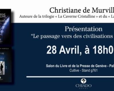 Salon du livre de Genève, stand g761 de Cultive.