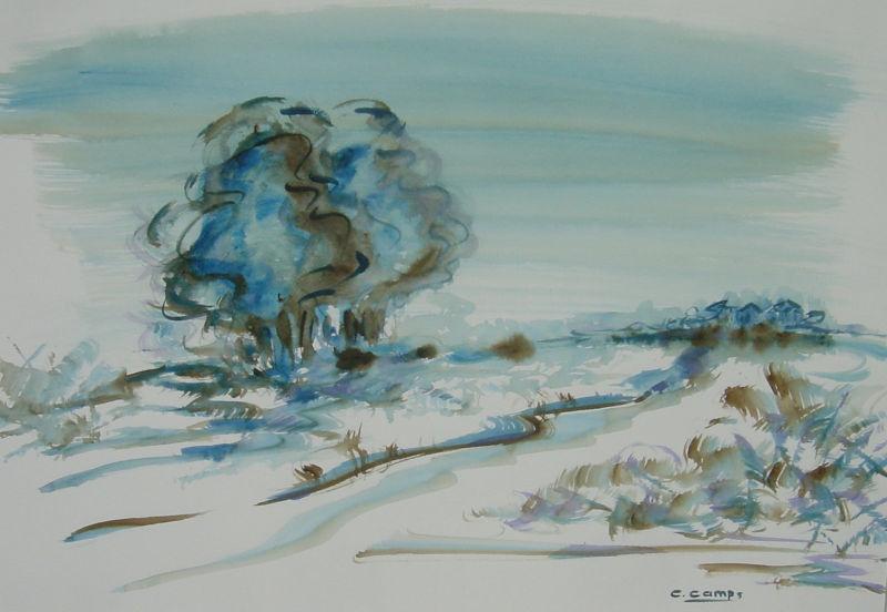 """""""Tudo Azul"""" – Obra premiada no X Salão de Artes Plásticas da Maratona Cultural ACESC 2005"""