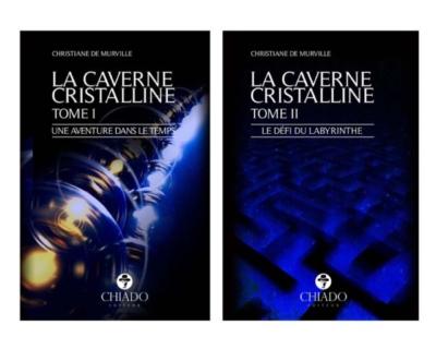 """""""La Caverne Cristalline: Une aventure dans le temps"""" par Nell Colin Chartier – Reiki Spiritualité Bien-Être!"""