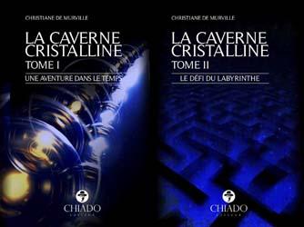 """Video """"La Caverne Cristalline"""" chez Chiado Éditeur"""